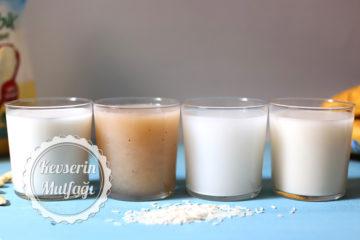4 Farklı Vegan Süt Tarifi