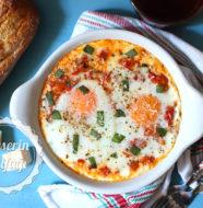 İtalyan Usulü Fırında Yumurta Tarifi