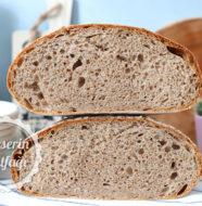 Ekşi Mayalı Tam Buğday Ekmeği Tarifi