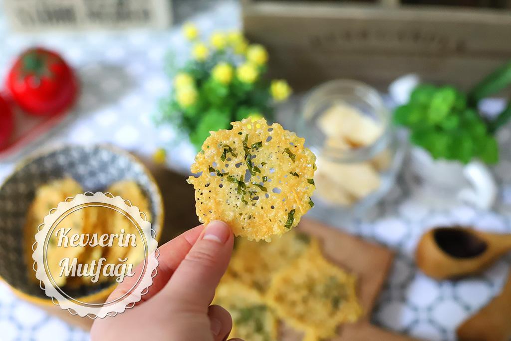 Ev Yapımı Peynir Cipsi Tarifi