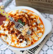 Yoğurtlu Fırın Patlıcan Salatası Tarifi