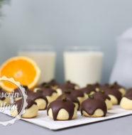 Portakallı Cheesecake Kurabiye Tarifi