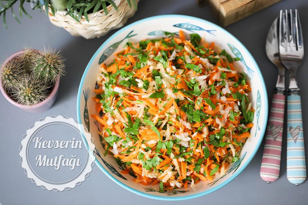 Havuçlu Alabaş Salatası Tarifi