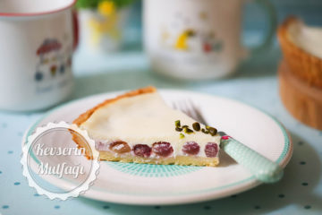 Üzümlü Cheesecake Tart (Videolu Tarif)