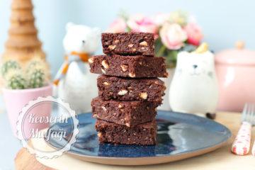 Kuru Fasulyeden Glutensiz Brownie (Videolu Tarif)