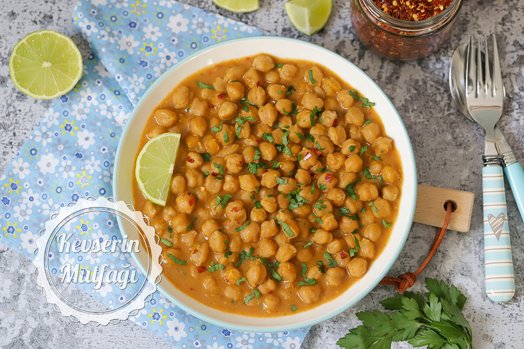 Nohut Curry Tarifi