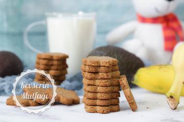 Şekersiz Glutensiz Vegan Gevrek Bisküvi
