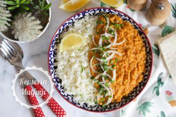 Kırmızı Mercimek Curry Tarifi