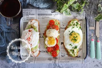 3 Farklı Avokado Tost Tarifi
