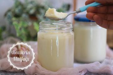 Nohutlu Vegan Yoğurt Tarifi