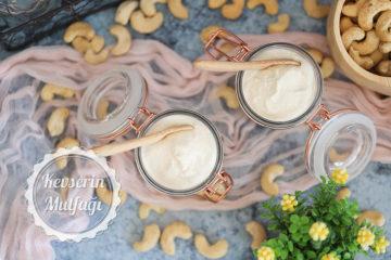Hızlı Vegan Kaju Yoğurdu Tarifi