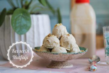 Tahinli Dondurma Tarifi